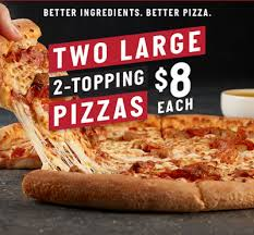 Papa John S 2 Large 2 Toppings 16 Frugallydelish Com